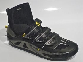 MAVIC Mavic Shoe Frost Black/Silver/Yellow Size 7