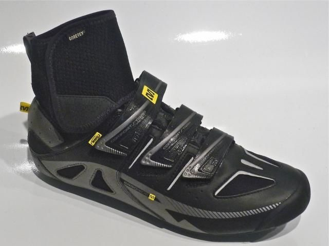MAVIC Mavic Shoe Frost Black/Silver/Yellow Size 11 click to zoom image